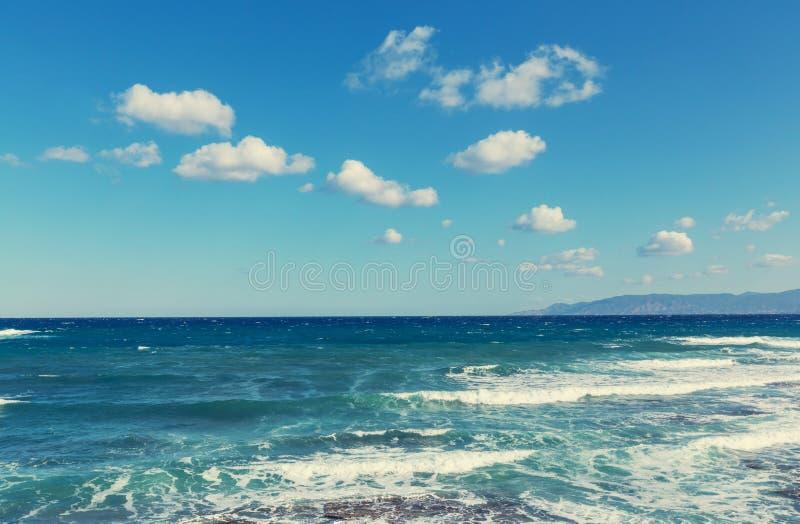 De kust van Cyprus royalty-vrije stock afbeelding