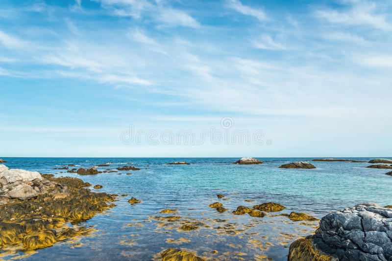 De kust van de Kejikust royalty-vrije stock fotografie