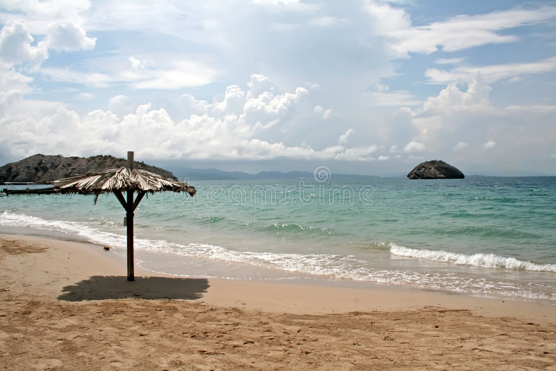 De kust van het strand stock afbeeldingen