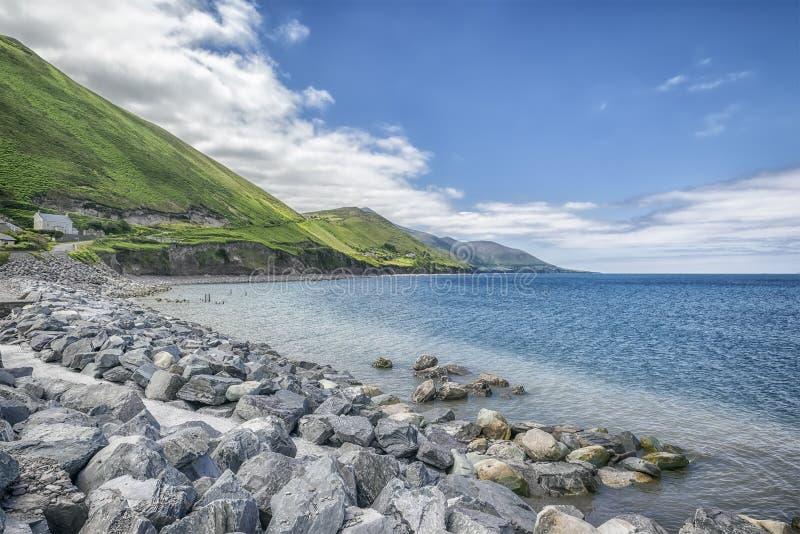 De kust van Ierland royalty-vrije stock fotografie