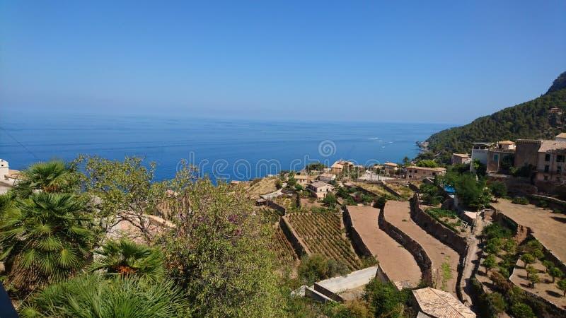 De Kust van Mallorcan royalty-vrije stock foto