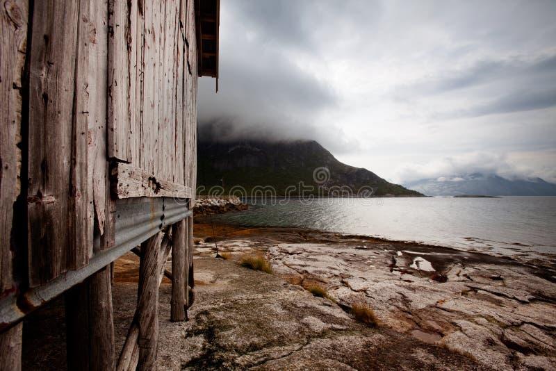 De Kust van Noorwegen royalty-vrije stock foto's