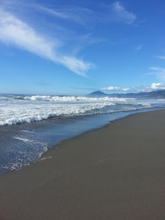 De kust van Oregon royalty-vrije stock afbeeldingen
