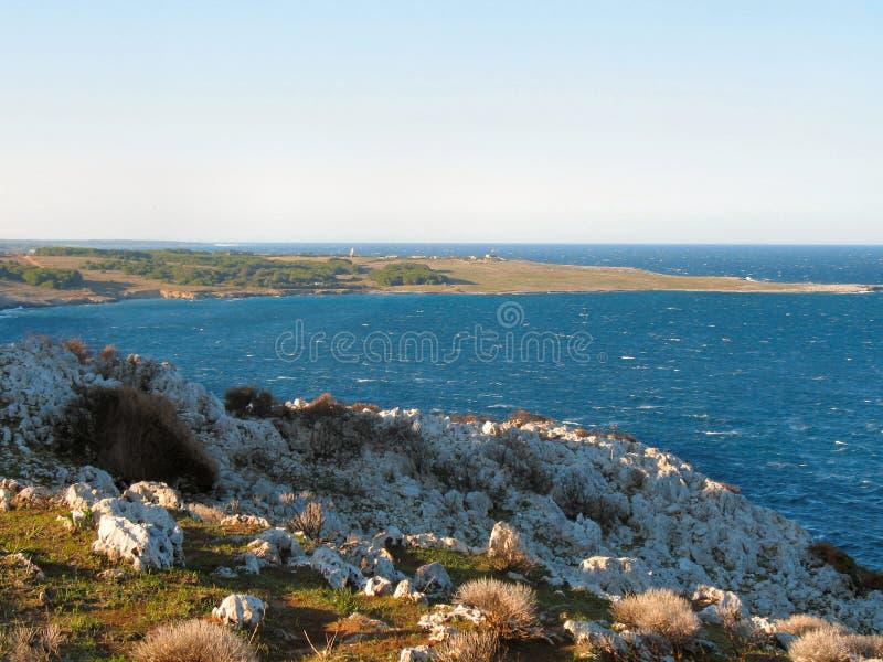De kust van Otranto stock foto