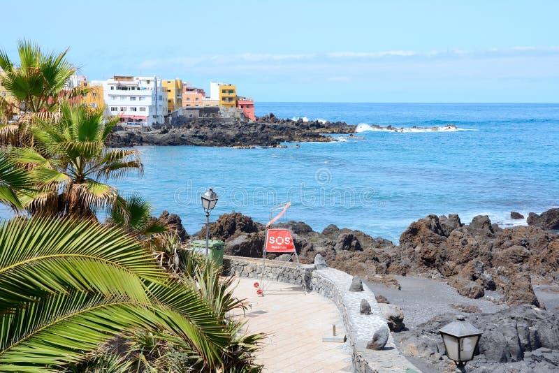 De kust van Tenerife royalty-vrije stock foto's