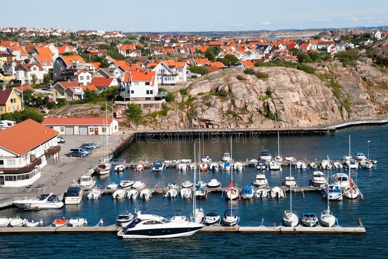 De kust van Zweden royalty-vrije stock afbeeldingen
