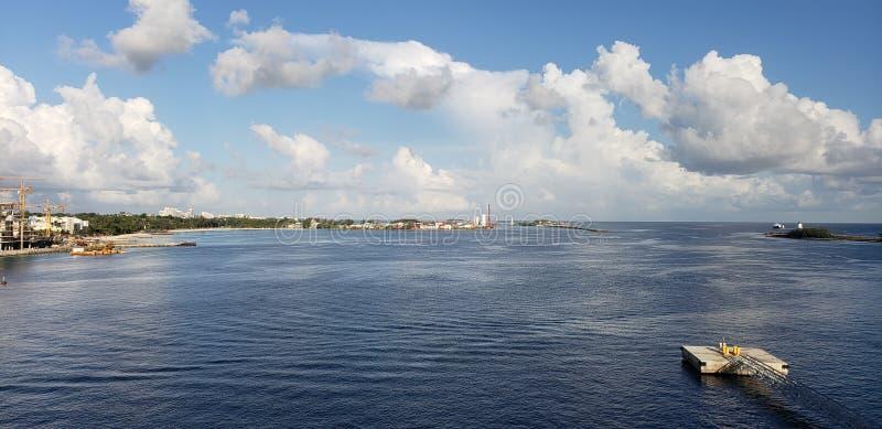 De Kusten van de Bahamas stock afbeelding