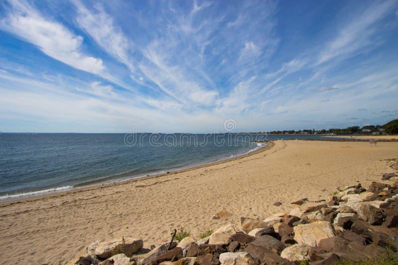 De kustlijn van Connecticut stock foto