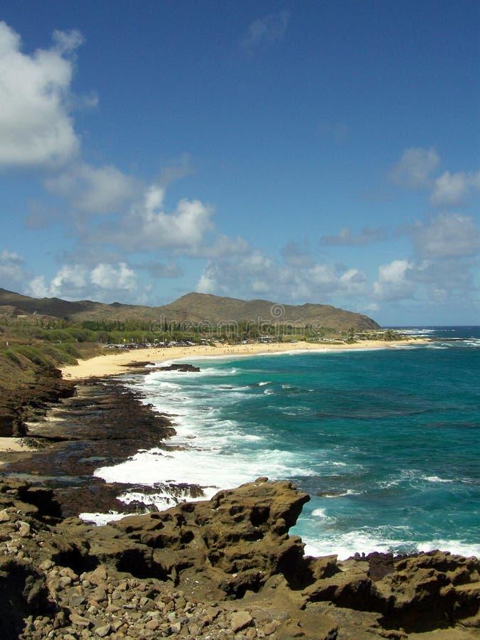 De Kustlijn van Maui stock afbeelding