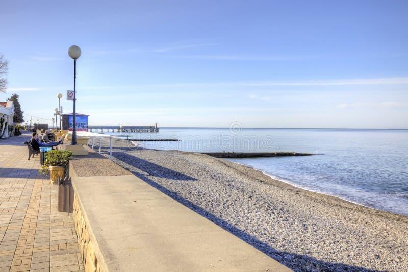 Download De Kustochtend Van De Zwarte Zee Redactionele Stock Foto - Afbeelding bestaande uit vooruitzicht, outdoors: 54080098