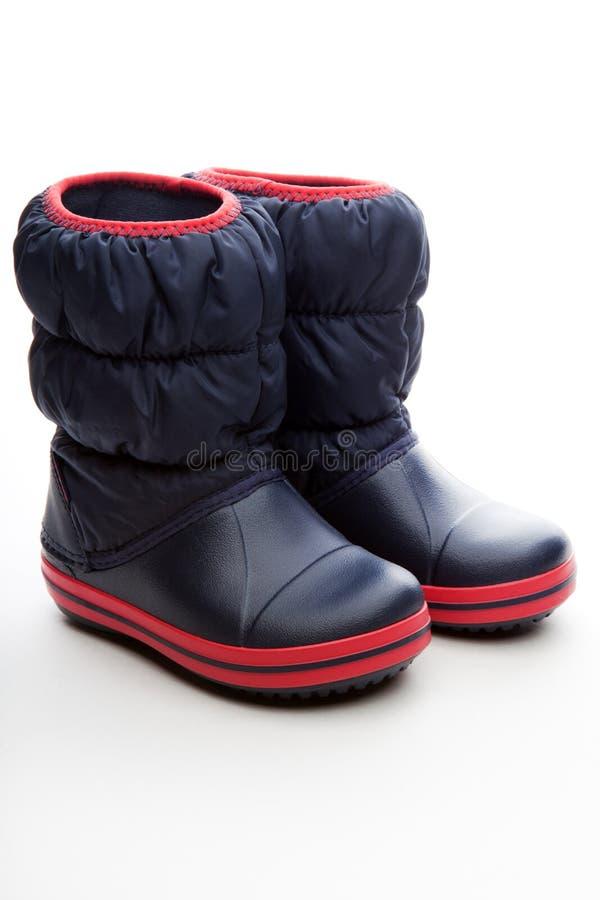 De kwaliteit van babyautumn spring shoes studio royalty-vrije stock fotografie
