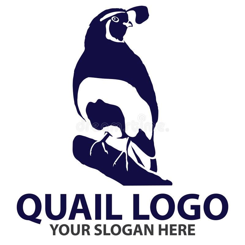 De Kwartels Logo Template van Californië vector illustratie