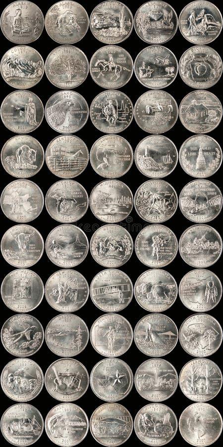 De Kwarten van de staat royalty-vrije stock foto's