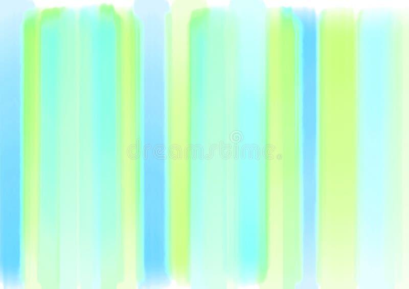 De kwaststreek grafische samenvatting Plonsen van de kunst de aardige Kleur regenboogmuur en met exemplaar en ruimte stock fotografie