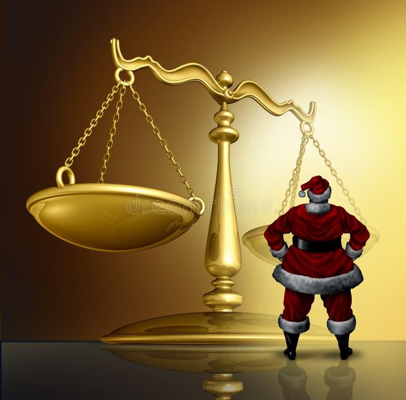 De Kwesties van de Kerstmiswet stock illustratie