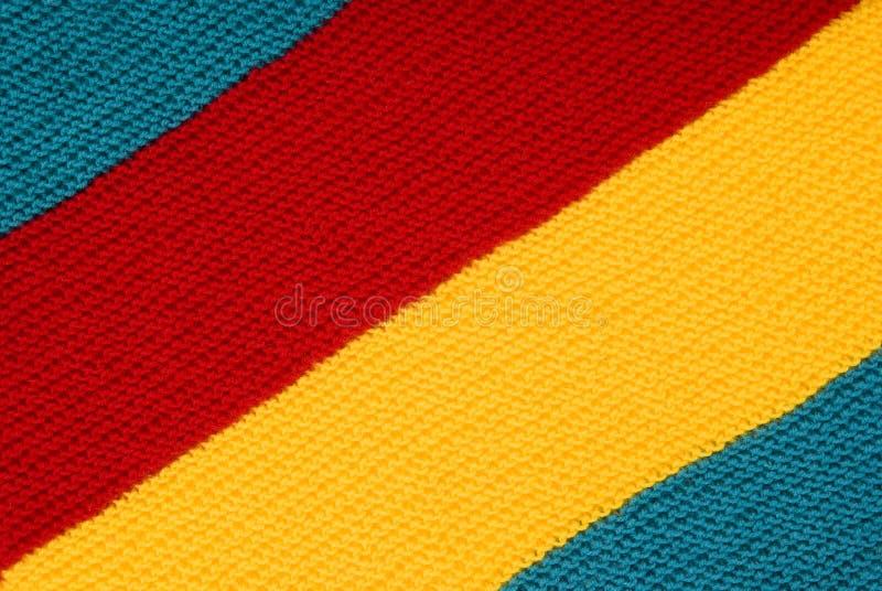 Download De lã imagem de stock. Imagem de woolen, vermelho, listrado - 16866265