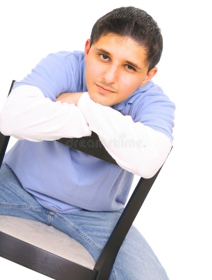 De l'adolescence beau photo libre de droits