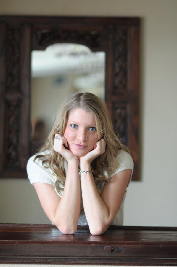 De l'adolescence blond photos libres de droits