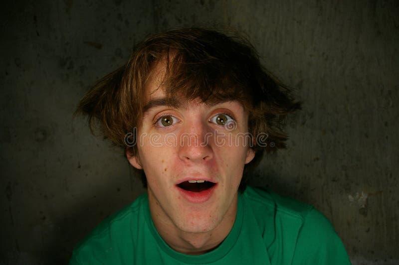 De l'adolescence idiot photo stock
