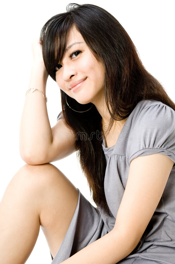 De L Adolescence Mignon Images stock
