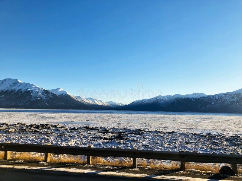De l'Alaska du tour bras congelé encore photos libres de droits