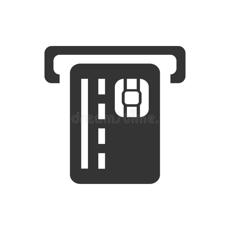 De la atmósfera del efectivo icono hacia fuera stock de ilustración