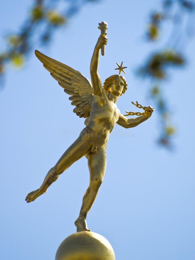 De-La Bastille Statue du Génie lizenzfreie stockfotografie