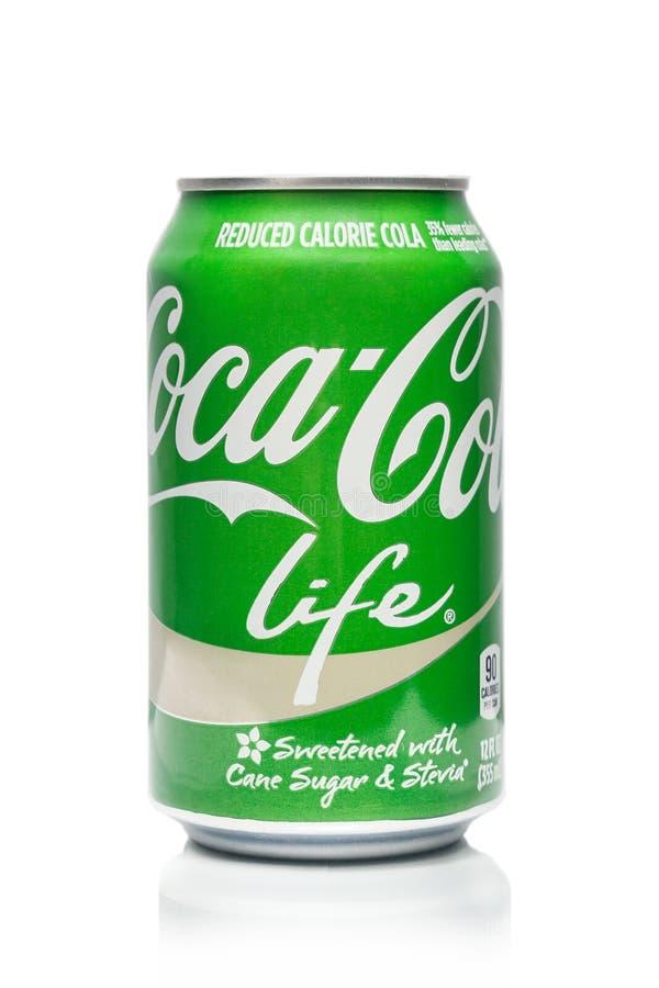 De la Coca-Cola de la vida alcochol no fotos de archivo