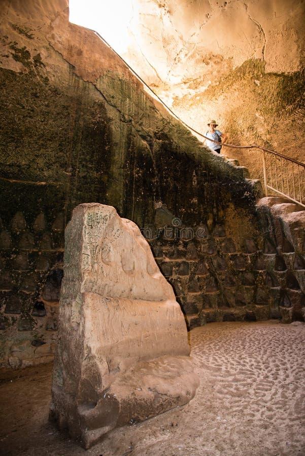 ` -1 de la cueva del polaco del ` de Bet Guvrin imágenes de archivo libres de regalías