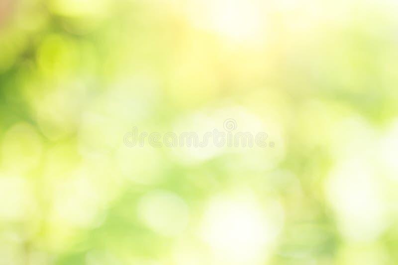 De la falta de definición abstracta del color verde para e del fondo, borroso y defocused imágenes de archivo libres de regalías