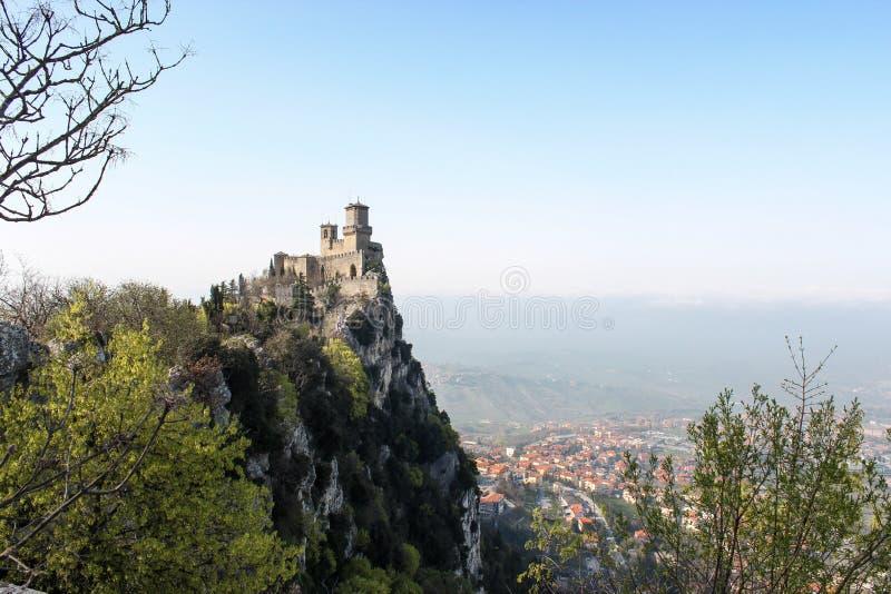 De La Fratta oder Cesta, San Marino stockfotografie