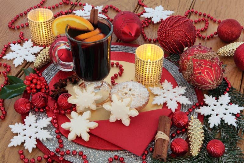 De la Navidad todavía de la celebración vida fotos de archivo libres de regalías