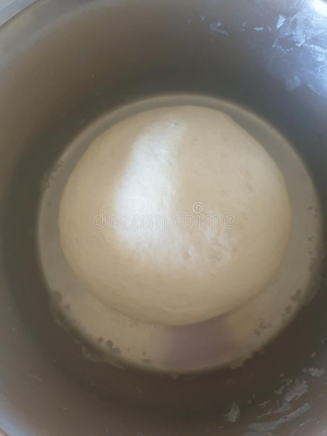De la pâte de boule expansion pré image stock