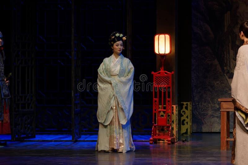 De la princesa- el acto de despedida en segundo lugar: la noche del drama histórico ejército-grande, ` Yangming ` de tres noches foto de archivo libre de regalías