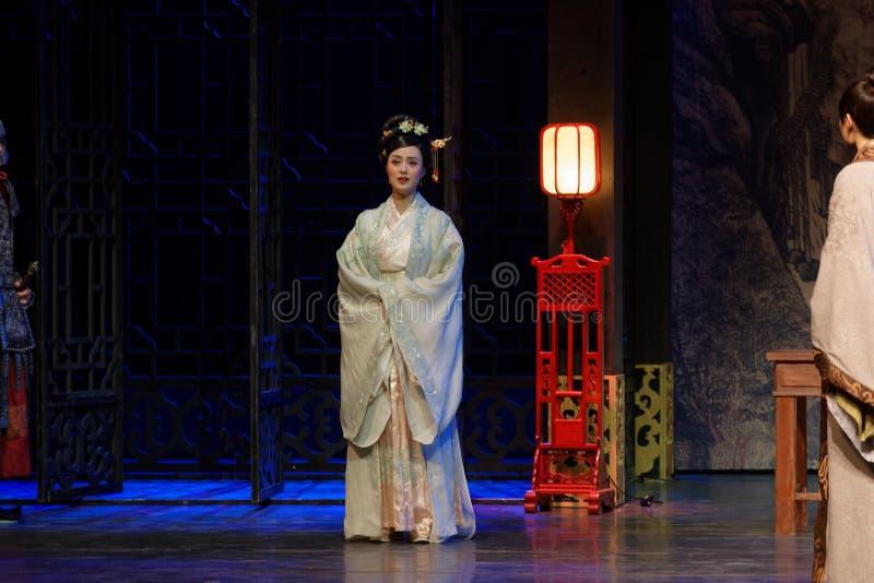 De la princesa- el acto de despedida en segundo lugar: la noche del drama histórico ejército-grande, ` Yangming ` de tres noches imágenes de archivo libres de regalías