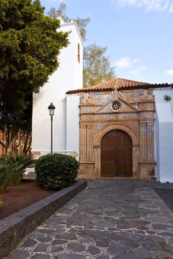 De-La Regla, Pajara, Fuerteventura Iglesia de Nuestra Señora stockfoto