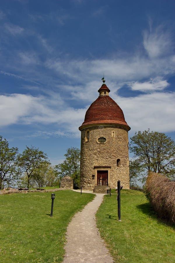 De la Rotonda de San Jorge, el viejo bulding cristiano en Skalica, Eslovaquia imagen de archivo
