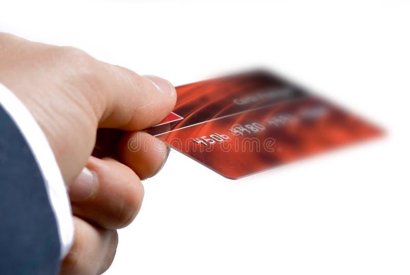 De la tarjeta de crédito imagenes de archivo