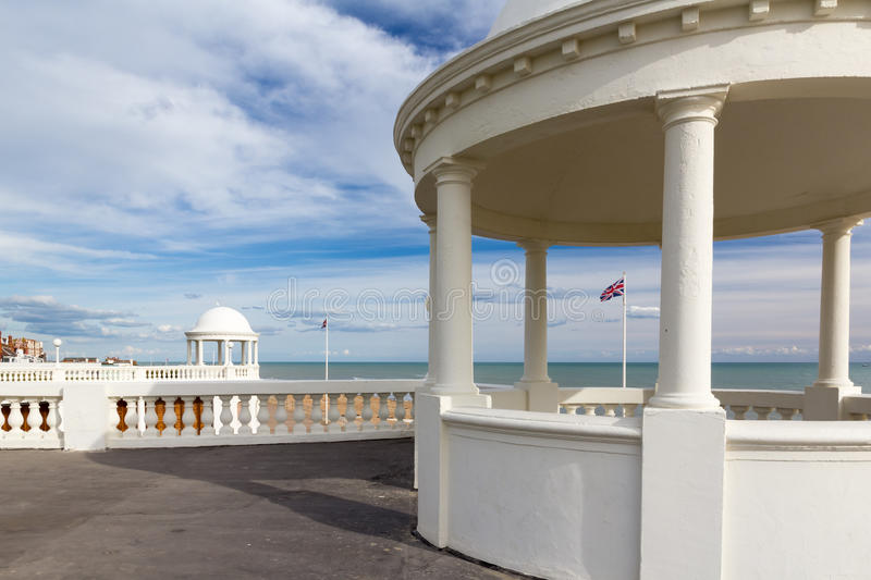 De la Warr Pavilion. At Bexhill-on-Sea, East Sussex England UK royalty free stock photography