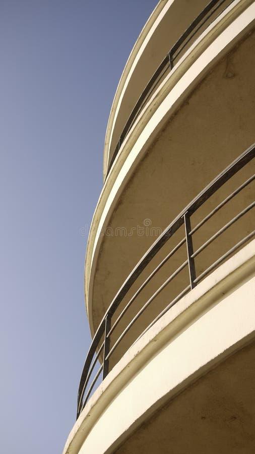 De La Warr Pavilion Art Deco y el edificio internacional del estilo imágenes de archivo libres de regalías
