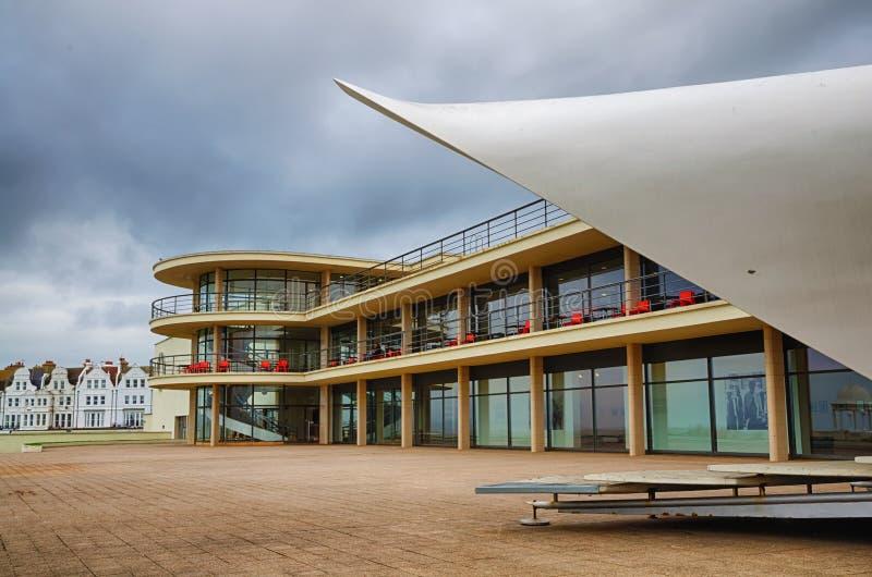 DE La Warr Pavilion in Bexhill royalty-vrije stock foto's