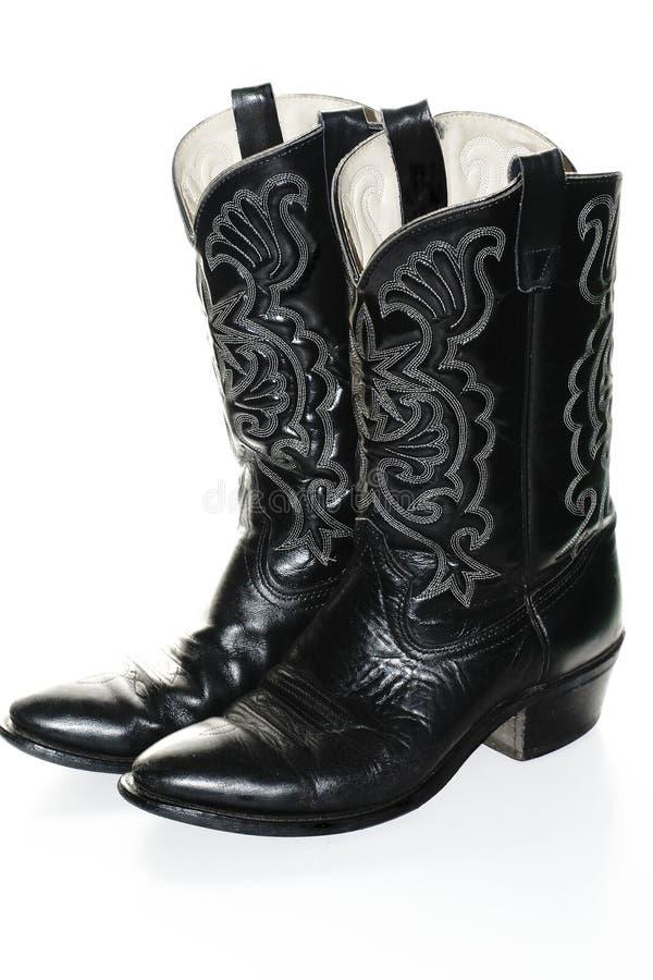 De Laarzen van de cowboy stock fotografie
