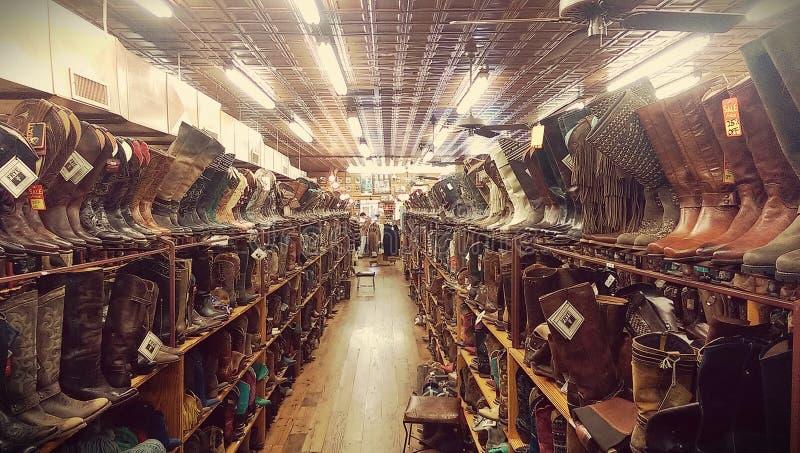 De laarzen van de cowboy stock afbeeldingen