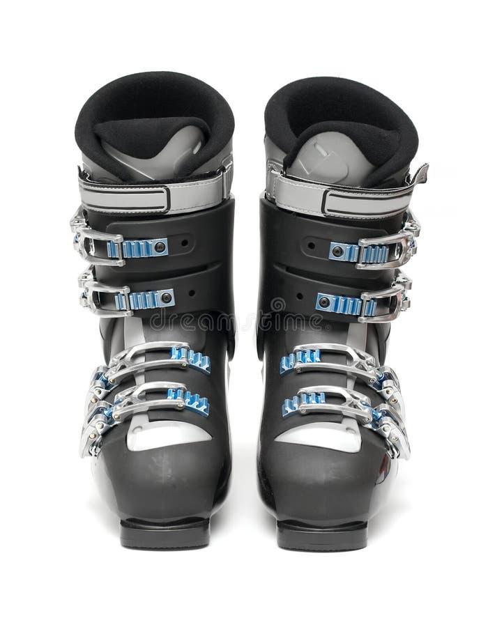 De Laarzen van de ski stock foto's