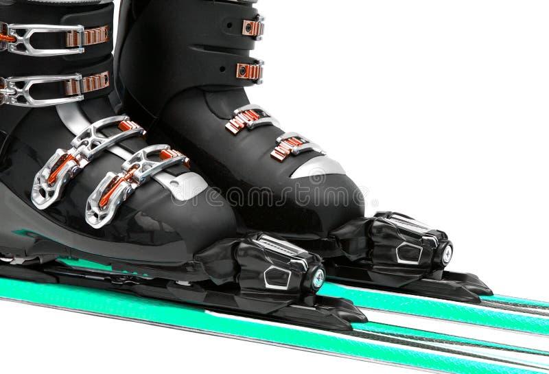 De laarzen van de ski vector illustratie