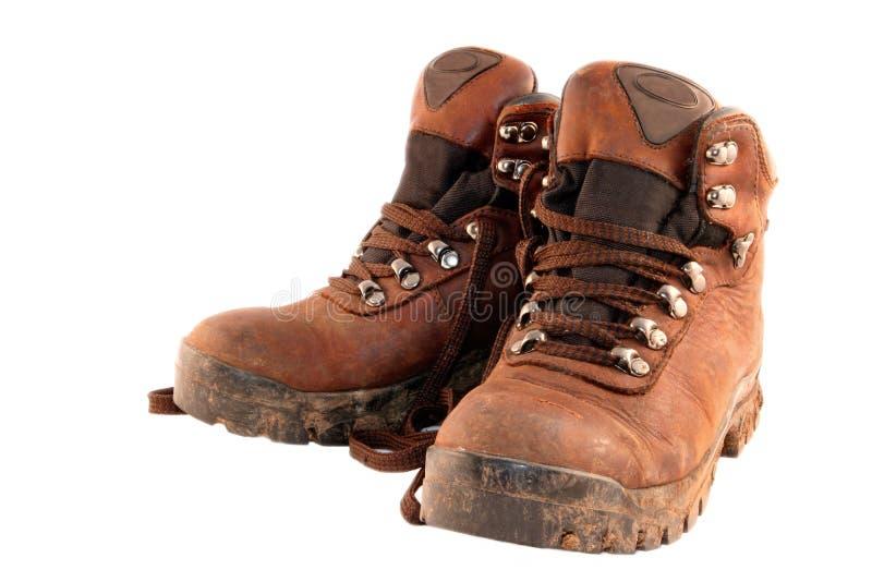 De Laarzen van de wandeling #2 stock foto's