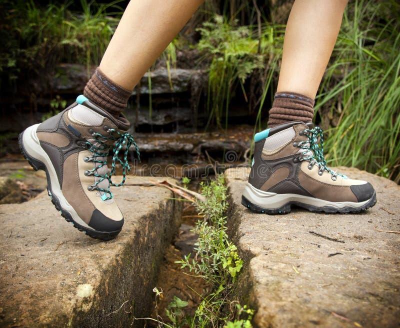 De Laarzen van de wandeling royalty-vrije stock foto