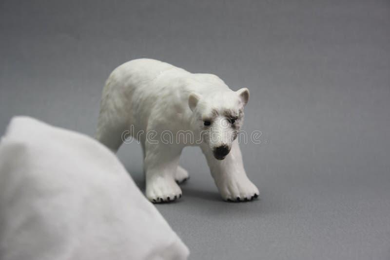 De laatste ijsberg stock foto's