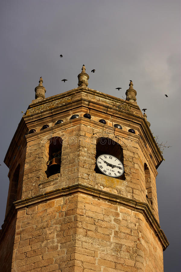 De laatste toren stock fotografie