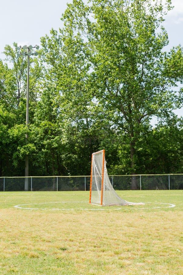 But de lacrosse photo libre de droits